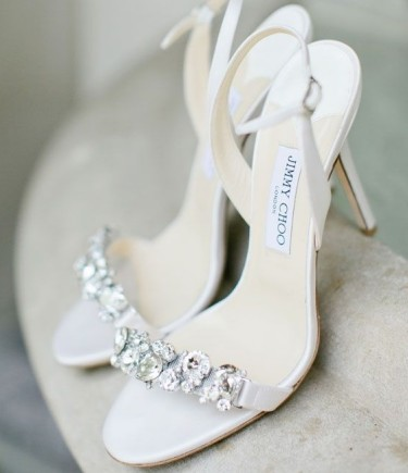 Jimmy Choo Crystal Embellished Shoes