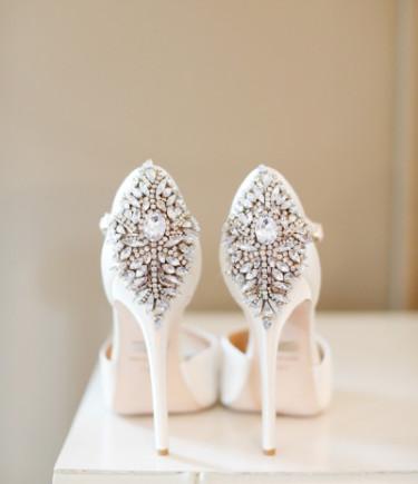 Kindra Embellished D'Orsay Heel
