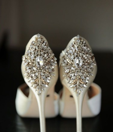 Sparkly Badgley Mischka Shoes